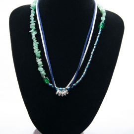 bijoux africains collier Elyzoe